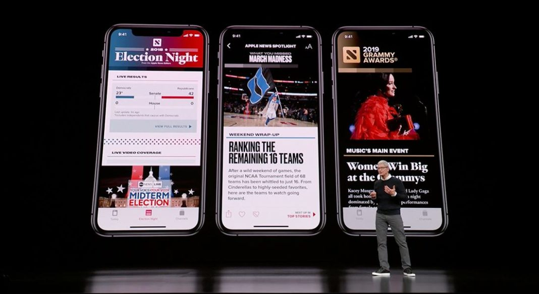 Apple News +