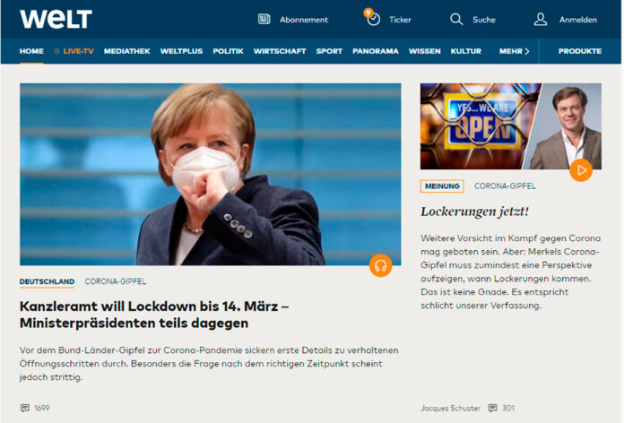 Tendencias periódicos alemanes