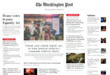 Portada Washington Post,