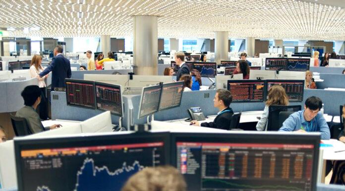 Oficinas de Bloomberg en Londres